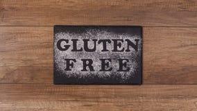 Opciones libres de la dieta del gluten - las diversas semillas resbalan de marco almacen de metraje de vídeo