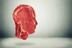 Opciones relativas a la salud de la consumición del balance de alimentos Imagenes de archivo