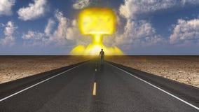 Opcja Zastosowania Broni Nuklearnej Zdjęcia Stock