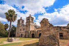 Opdracht Concepción, San Antonio, Texas royalty-vrije stock foto's