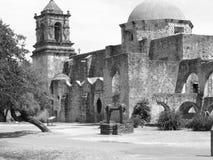 Opdracht San Jose - San Antonio, Texas Stock Foto's