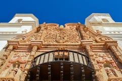 Opdracht San Xavier del Bac Church stock foto's