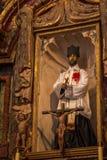 Opdracht San Xavier del Bac Icon Royalty-vrije Stock Fotografie