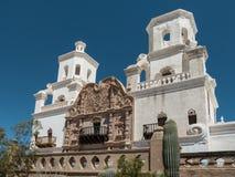Opdracht San Xavier del Bac in Tucson royalty-vrije stock afbeeldingen