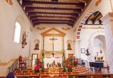 Opdrachtsan Luis Obispo de Tolosa California Basilica Kruis Stock Afbeeldingen
