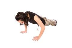 Opdrukoefening Stock Fotografie