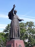 ope Johannes Paulus II Stock Afbeeldingen
