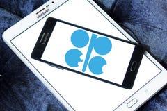 OPEC organizaci logo zdjęcia royalty free