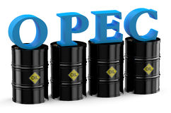 OPEC summit concept Stock Photography