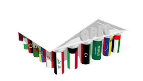OPEC-Vereinigung Lizenzfreie Stockfotos