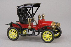 Opel 1908 Doktor. 1908 Opel Doktor, Ziss Modell of Germany 1:43 scale diecast replica Stock Photos