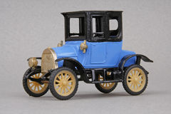 Opel 1908 Stadtcoupe. 1908 Opel Stadtcoupe, Ziss Modell of Germany 1:43 scale diecast replica Royalty Free Stock Photos