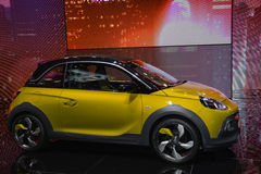 Opel Adam Rocks al salone dell'automobile di Ginevra Fotografia Stock Libera da Diritti