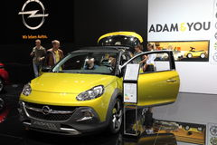 Opel Adam Rocks Compact Car Arkivfoton