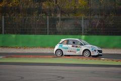 Opel Adam samlar bilen på Monza Royaltyfri Bild
