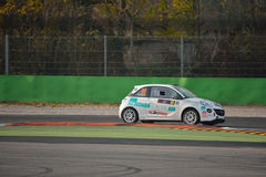 Opel Adam wiecu samochód przy Monza Obraz Royalty Free