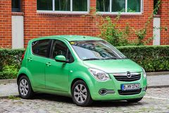 Opel Agila Royalty Free Stock Photo