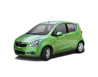 Opel Agila Royalty Free Stock Image