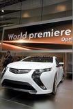 Opel Ampera - 2010 Geneva Motor Show Royalty Free Stock Images