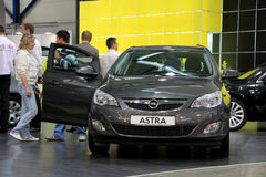 Opel Astra Stock Photos