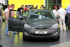 Opel Astra Royalty Free Stock Image