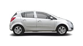 Opel Astra 免版税库存图片