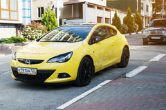 Opel Astra Royalty-vrije Stock Afbeeldingen
