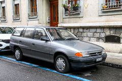 Opel Astra foto de stock