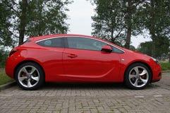 Opel Astra GTC Royalty-vrije Stock Afbeeldingen