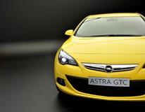 Opel Astra GTC auf IAA Frankfurt 2011 Lizenzfreie Stockfotos