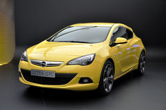 Opel Astra GTC on IAA Frankfurt 2011 Royalty Free Stock Photos