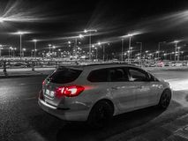 Opel Astra J στοκ εικόνα