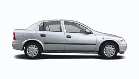 Opel Astra sedanu samochód Zdjęcie Royalty Free