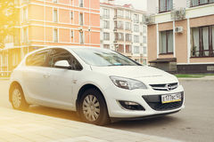 Opel Astra. Royalty Free Stock Photography