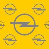 Opel-autoembleem royalty-vrije illustratie