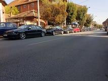 Opel Calibra en Serbie photos stock