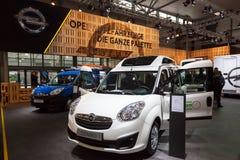 Opel Combo Van przy IAA 2016 Obrazy Stock