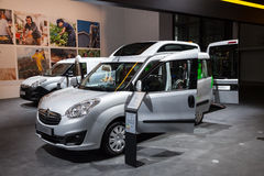 Opel Combo Wheelchair transport Stock Image