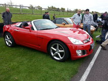 Opel convertible. Goodwood Soft Top Sunday 2014 Royalty Free Stock Photo