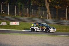 Opel Corsa wiecu samochód przy Monza Zdjęcie Stock