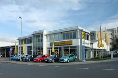 Opel dealership Royalty Free Stock Images