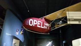 Opel el avión Fotografía de archivo