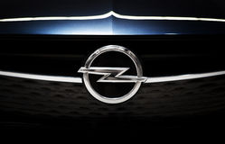Opel Emblem logo Royalty Free Stock Images