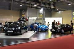 Opel en la exposición en Sofía Fotografía de archivo libre de regalías