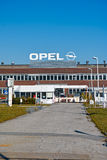Opel-Fabriek Stock Foto
