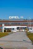 Opel Factory. Bochum, Germany - October 11, 2015: Factory building of international automotive manufacturer Adam Opel in Bochum Stock Photo