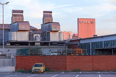 Opel Factory Ruesselsheim. Ruesselsheim, Germany - August 29, 2015: Factory of automotive manufacturer Adam Opel Group Royalty Free Stock Photography