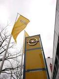 Opel-Firmenauto-vertragshändler Lizenzfreie Stockbilder