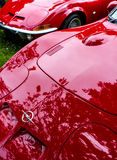 Opel GT brand red car Royalty Free Stock Photo