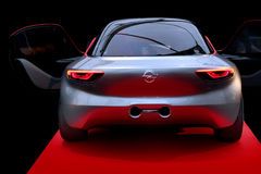 OPEL GT Concept Car. Exposed at the International Concept cars Festival 2017 in Paris in France Stock Image